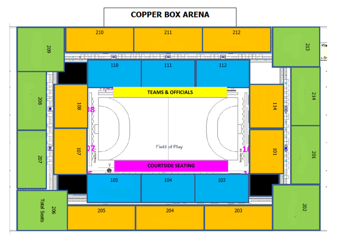 Copperbox Seat Plan