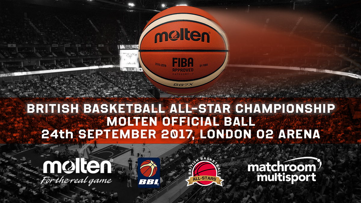 MOLTEN ANNOUNCED AS OFFICIAL BALL OF BRITISH BASKETBALL ALL-STARS CHAMPIONSHIP