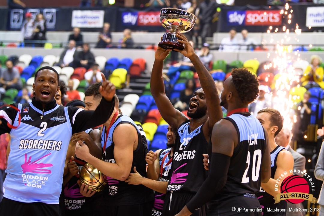 Scorchers Are British Basketball All-Stars Champions