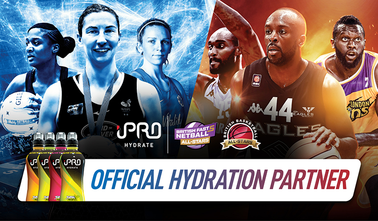 iPRO Hydrate Are Official Hydration Partner Of Fast5 All-Stars And All-Stars Basketball